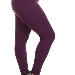 Pants - High Waisted Compression Tummy Control Leggings